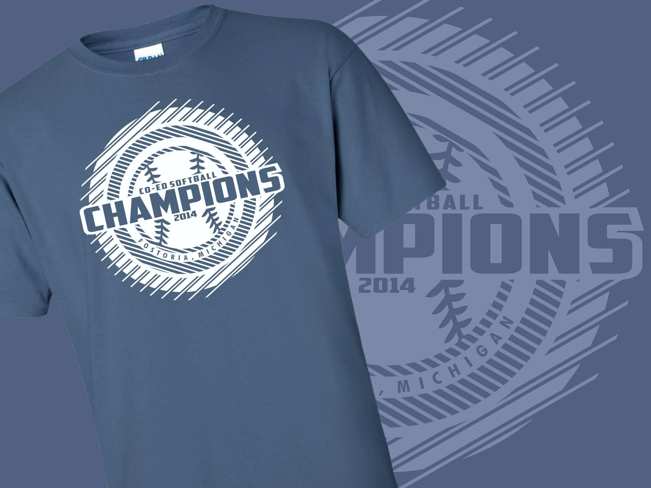 Co-Ed Softball Champions
