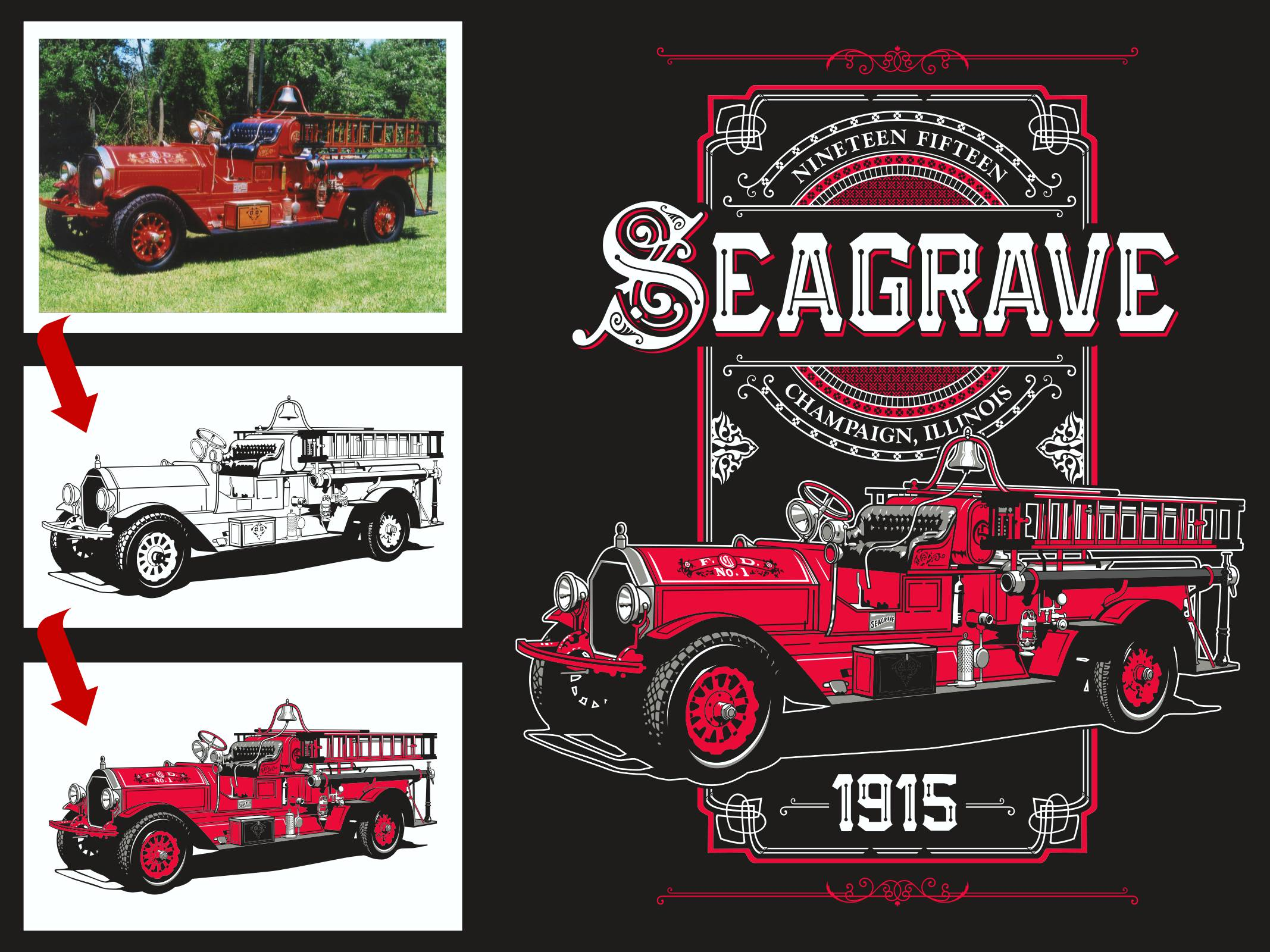 1915 Seagrave