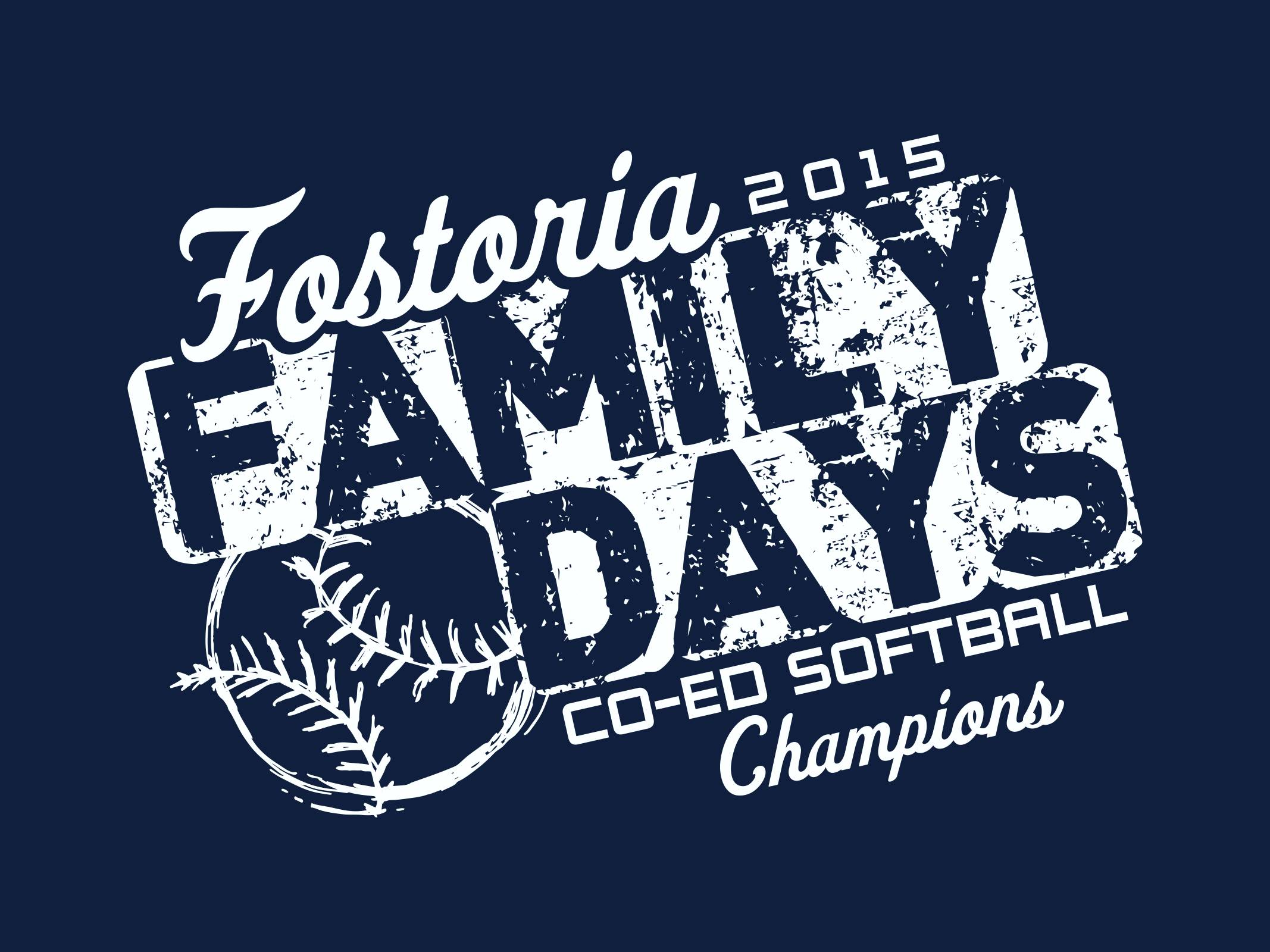 Fostoria Family Days Co-Ed Softball