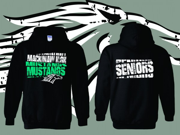 Mackinaw High Seniors Sweatshirts