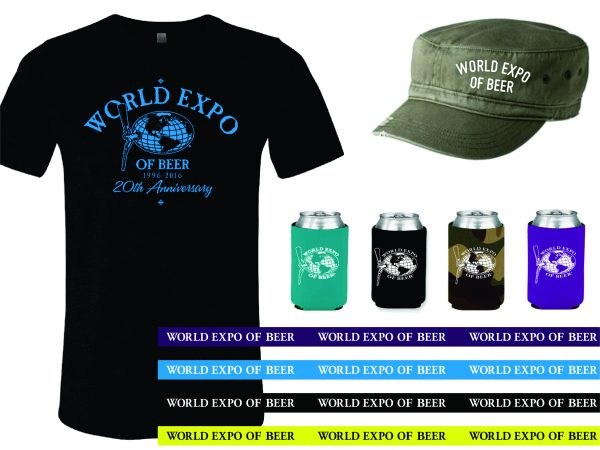 World Expo of Beer 2016 T's, Hats, Koozies & Lanyards