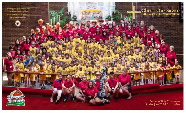 Christ Our Savior Vacation Bible School