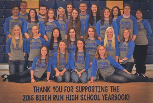 Birch Run High School Yearbook