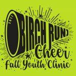 Birch Run Fall Youth Cheer Clinic