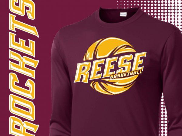 Reese Basketball Rockets