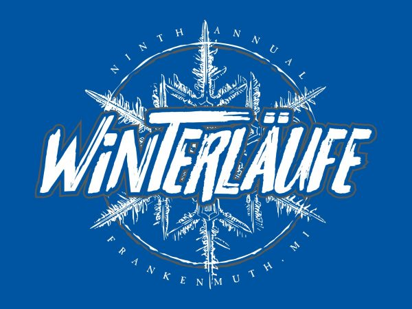 Ninth Annual Winterlaufe Runner Shirts