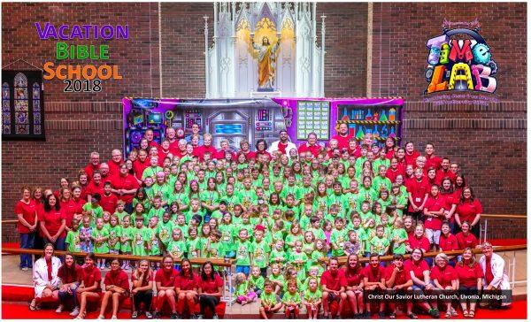Christ Our Savior Livonia Vacation Bible School 2018