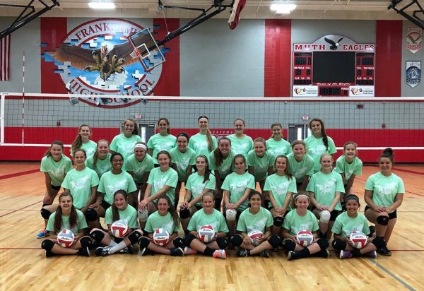 Junior Eagles Volleyball Camp 2018