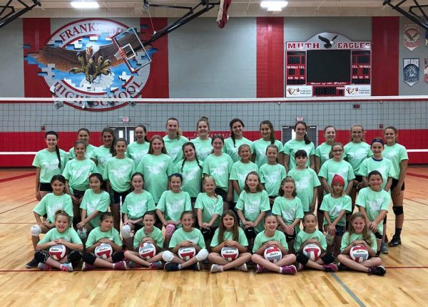Junior Eagles Volleyball Camp 20188