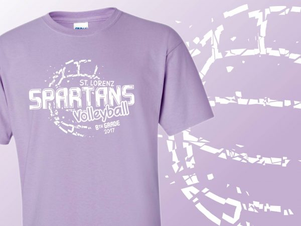 St. Lorenz Spartans Volleyball T-Shirts