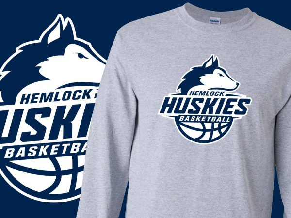 Hemlock Huskies Basketball