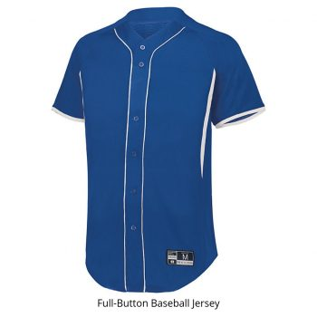 Full-Button Baseball Jersey