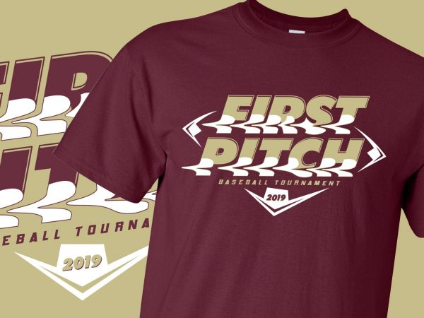 First Pitch Baseball Tournament 2019 T-Shirts