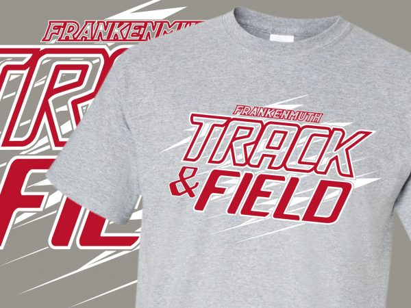 Frankenmuth Track & Field Custom T-Shirts