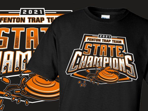 Fenton Trap Team State Champions 2021